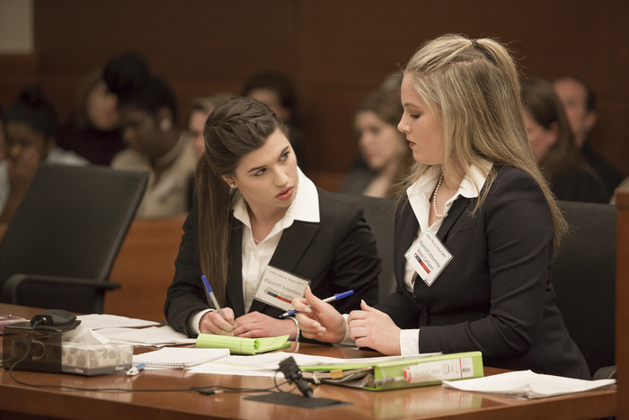 picture of mock trial